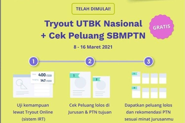 Tryout UTBK 2021 Quipper