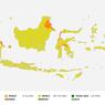 Indonesia Kini Bebas Zona Merah Covid-19
