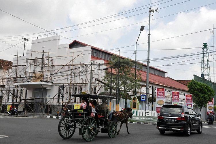 Eks Bioskop Permata sedang dipugar untuk dijadikan tempat pusat film Yogyakarta