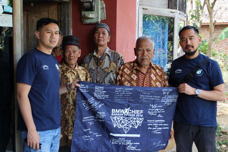 Chief Barber Voyage 2018 bertemu dengan para sesepuh pangkas rambut Garut