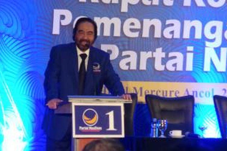 Ketua Umum DPP Partai Nasdem Surya Paloh