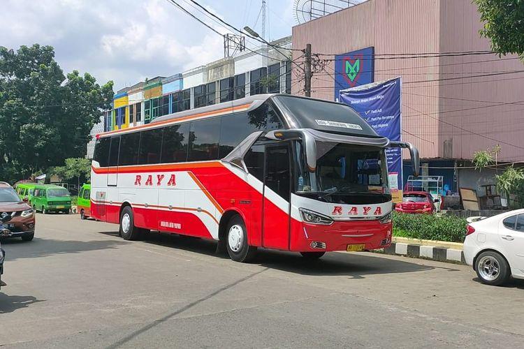 Bus AKAP PO Raya