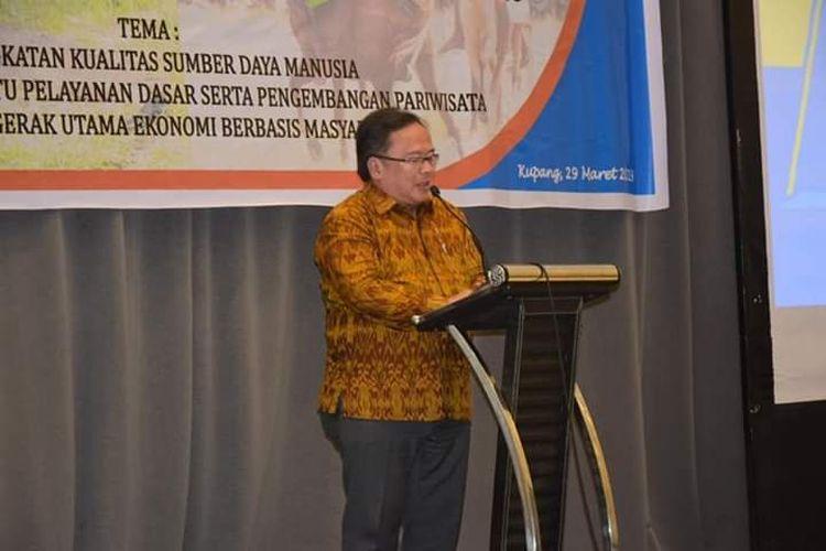 Menteri Perencanaan Pembangunan Nasional (PPN/Bappenas), Bambang Brodjonegoro,