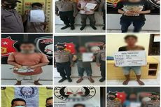 Polisi Berantas Preman, 10 Pelaku Pungli dan Penjudi Ditangkap di Asahan
