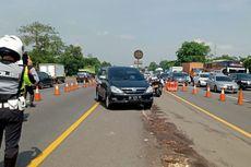 Arus Lalu Lintas Padat, Jasamarga Berlakukan Contraflow di Tol Cikampek Km 47