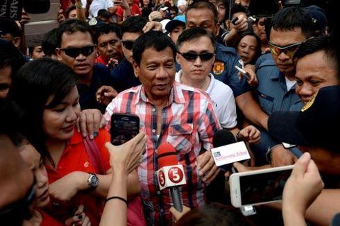 Rodrigo Duterte Pimpin Perolehan Suara Sementara Pilpres Filipina