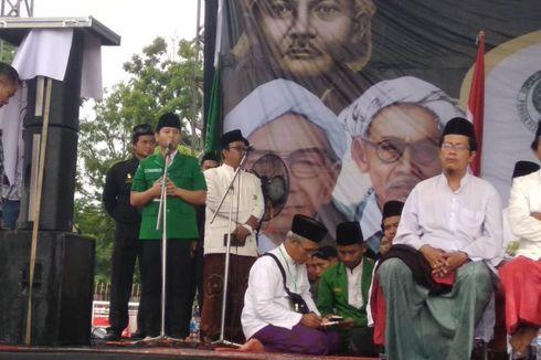 Wakil Bupati Trenggalek yang Menghilang Mendadak Muncul Dampingi Ma'ruf Amin