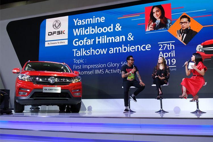 DFSK Glory 560 di Telkomsel IIMS 2019