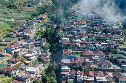 Nepal van Java Dusun Butuh Magelang yang Unik Berlatar Gunung Sumbing