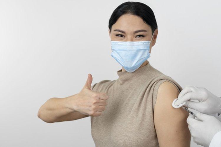 Ilustrasi setelah vaksin