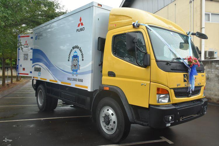 Penyerahan Mobile Workshop Service dari KTB untuk PT Batavia Prosperindo