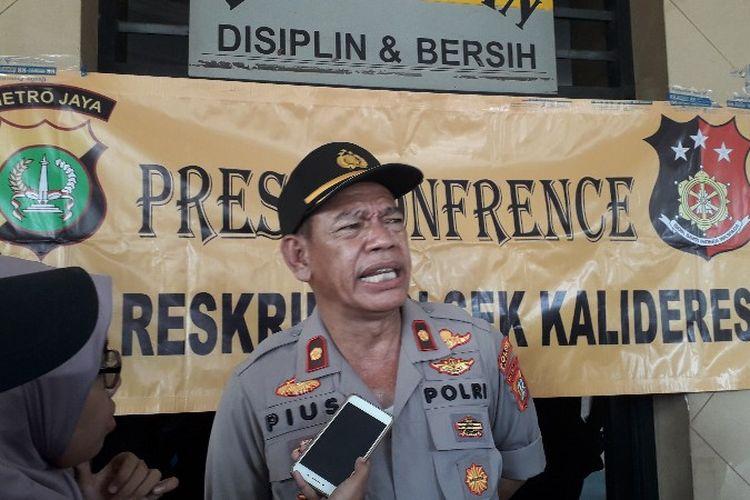 Kapolsek Kalideres Kompol Pius Ponggeng di Mapolres Kalideres pada Rabu (12/9/2018).