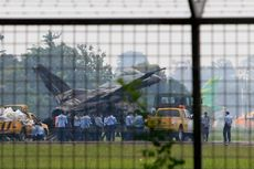 Foto-foto Pesawat F-16 yang Terbakar