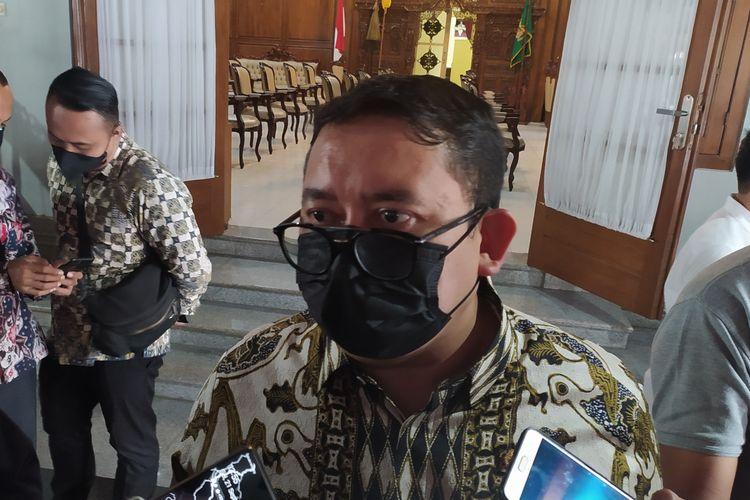 Anggota DPR RI Fadli Zona di Pendapa Sipanji Purwokerto, Kabupaten Banyumas, Jawa Tengah, Selasa (21/9/2021).