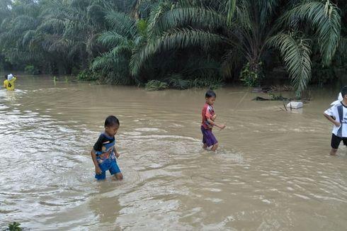 Ratusan Rumah Terendam Banjir di Aceh Utara