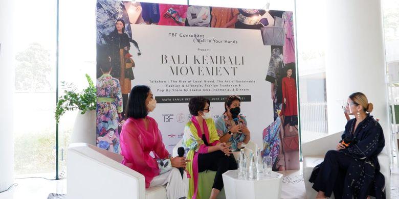 Acara Bali Kembali Movement yang digelar pada 24-25 Juni 2021 di Maya Sanur Resort & Spa, Bali.