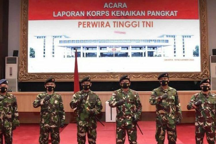 22 Perwira Tinggi TNI Naik Pangkat, Berikut Daftar Namanya