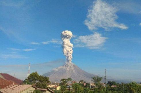 Masyarakat Sekitar Gunung Sinabung Diminta Waspada Banjir Lahar Dingin