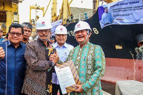 Mentan Lepas Ekspor 7.700 Ton Pakan Ternak ke Filipina