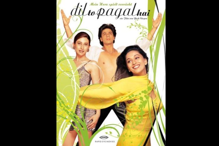 Dil To Pagal Hai (1997), tayang hari ini, Jumat (4/9/2020) pukul 14:00 WIB di ANTV.