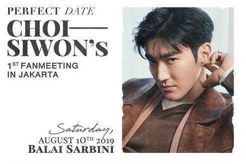 Siwon Gelar Fanmeeting Pertama di Jakarta, Penggemar Terkejut