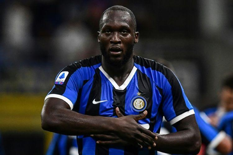 Penyerang Inter Milan, Romelu Lukaku sampai sejauh ini sudah mencetak dua gol dalam dua pekan bergulirnya Serie A Liga Italia musim 2019-2020.