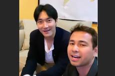 Raffi Ahmad Berseloroh Bangun Siwon Apartemen, Siwon Terkekeh Sampai Menutup Muka