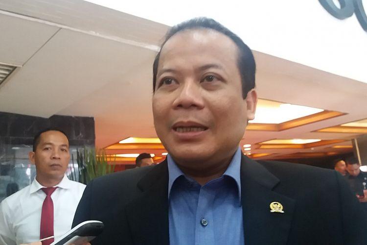 Wakil Ketua DPR RI Taufik Kurniawan di Kompleks Parlemen, Senayan, Jakarta, Rabu (17/5/2017).