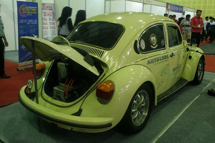 VW Kodok bermesin listrik