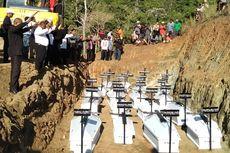 20 Jenazah Dimakamkan Massal, Identifikasi Korban Bencana Jayapura Diteruskan