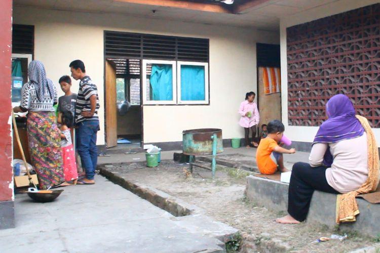 Lombok Timur, kompas.com warga Ahmadiyah yang masih mengungsi di Lombok timut