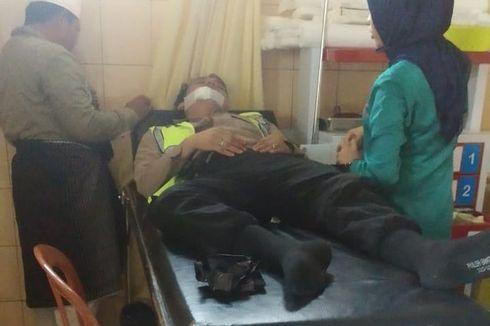 Sedang Atur Lalu Lintas, Polisi Ditikam ODGJ Pakai Pisau Dapur