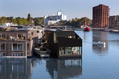 Menengok Rumah Ramah Lingkungan di Desa Terapung Amsterdam