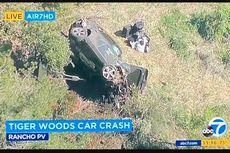 Tiger Woods Kecelakaan Mobil Tunggal, Harus Dioperasi di RS