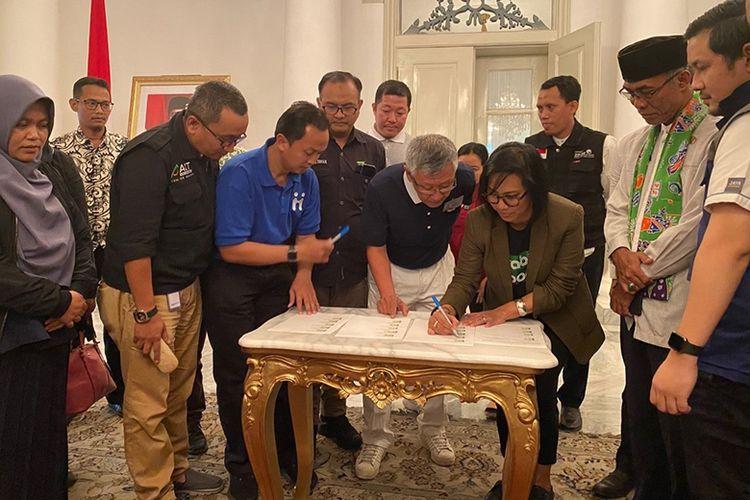 Pemprov DKI Kerja Sama dengan Grab Tanggulangi Dampak Banjir Jakarta