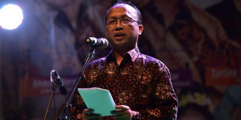 Sekretaris Jenderal Kementerian Desa, Pembangunan Daerah Tertinggal, dan Transmigrasi Anwar Sanusi
