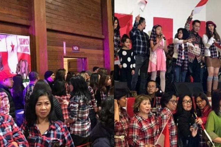 Warga diaspora di AS menggelar acara