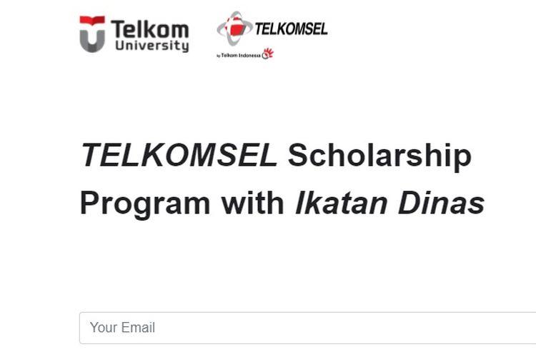 Beasiswa S1 Telkomsel 2021