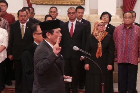 Luhut Panjaitan Dilantik Menjadi Kepala Staf Kepresidenan