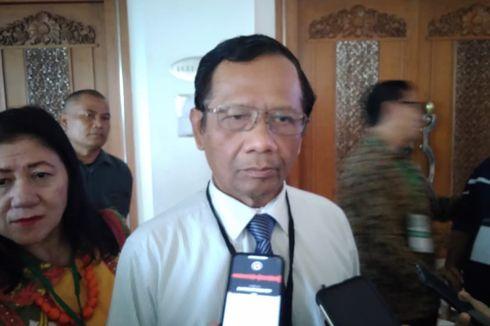 Mahfud MD: Rakyat Harus Maklumi soal Perppu KPK, Presiden Dilematis