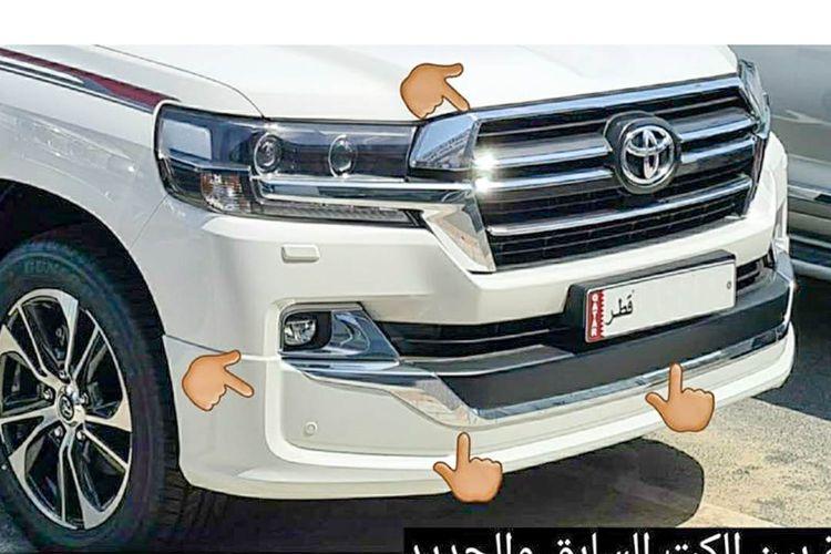 Ilustrasi Toyota Land Cruiser model baru