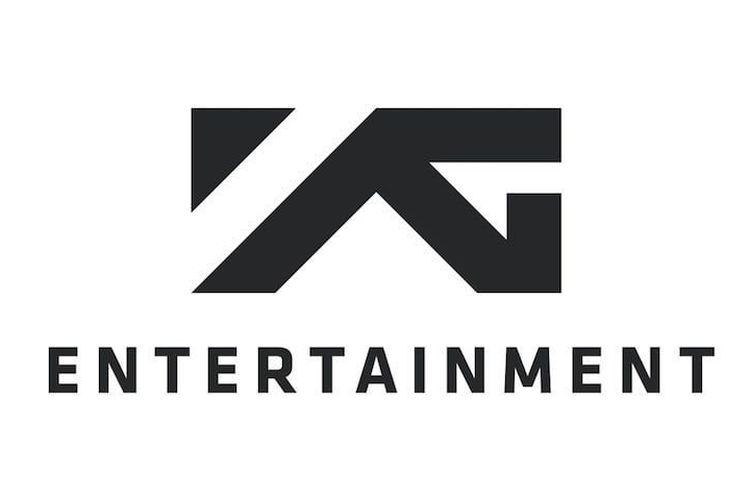 Logo salah satu agensi K-pop, YG Entertainment.
