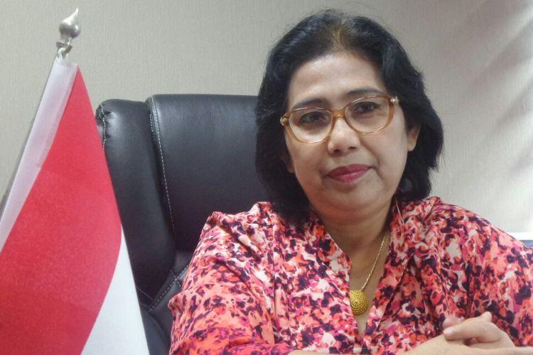 Ketua DPP Partai Nasdem Irma Suryani di Kompleks Parlemen, Senayan, Jakarta, Jumat (17/3/2017).