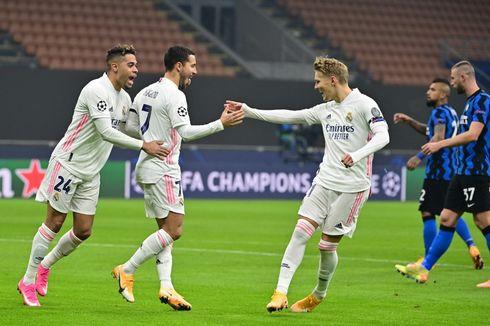 Hasil Inter Vs Madrid, Nerazzurri Kalah dan Jadi Juru Kunci