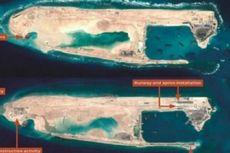 Pesawat Militer China Mendarat di Pulau Karang Buatan di Laut China Selatan