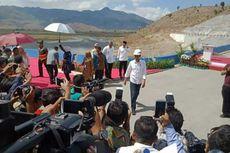 Presiden Resmikan Bendungan Tanju di Dompu, Nusa Tenggara Barat