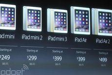 Daftar Lengkap Harga iPad Air 2 dan iPad Mini 3