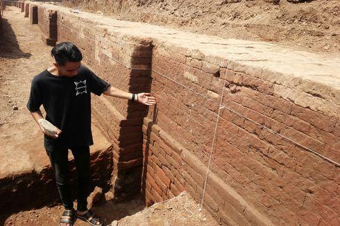 Struktur Bata Kuno di Kumitir Mojokerto Tempat Pemujaan Raja Singasari