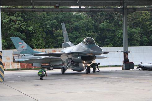 12 Pesawat F-16 Digunakan dalam Latihan Bersama TNI AU dan USPACAF