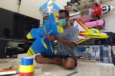 Dirumahkan Saat Pandemi, Pria Ini Tekuni Hobi Merakit Pesawat Aeromodelling untuk Hidupi Keluarga